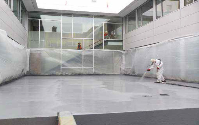 Walking Roof Deck Waterproofing 1