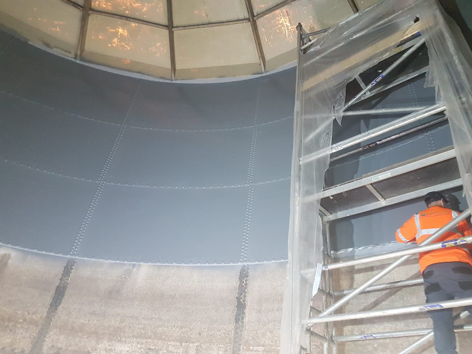Glass Fused Steel Tank Lining 08